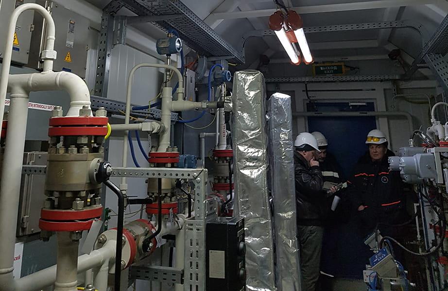 Модернизация системы сигнализации утечек нефтепродуктов