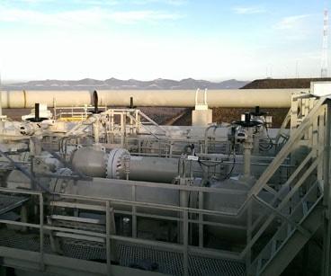Реконструкция станции регулирования давления