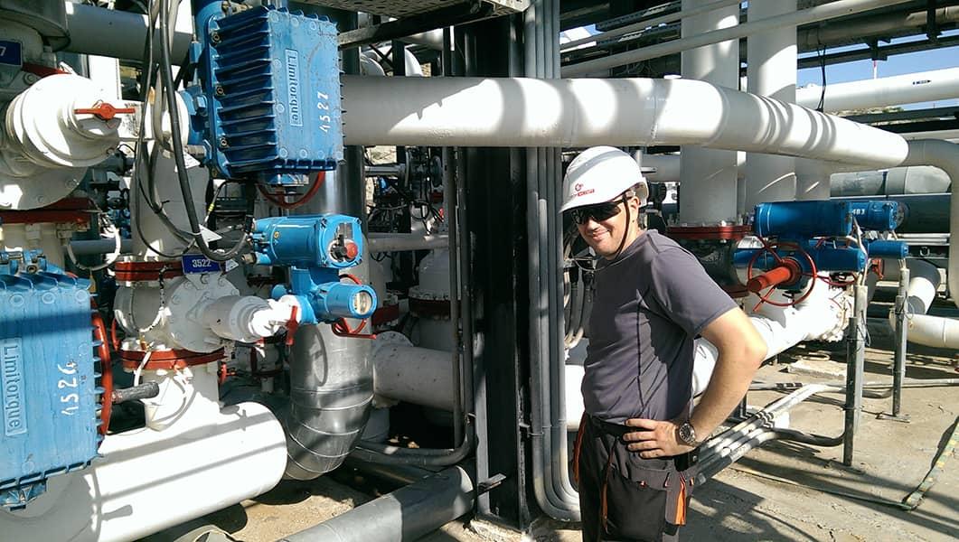 Ремонт узлов учета количества нефти