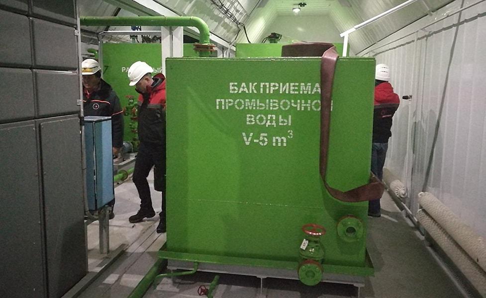 Модернизации установки водоочистки